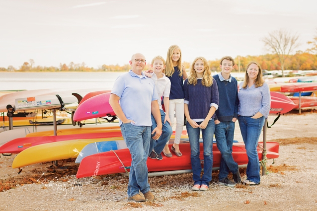 Family of Six - Autumn Beach Session {Greenwich Family Photographer}