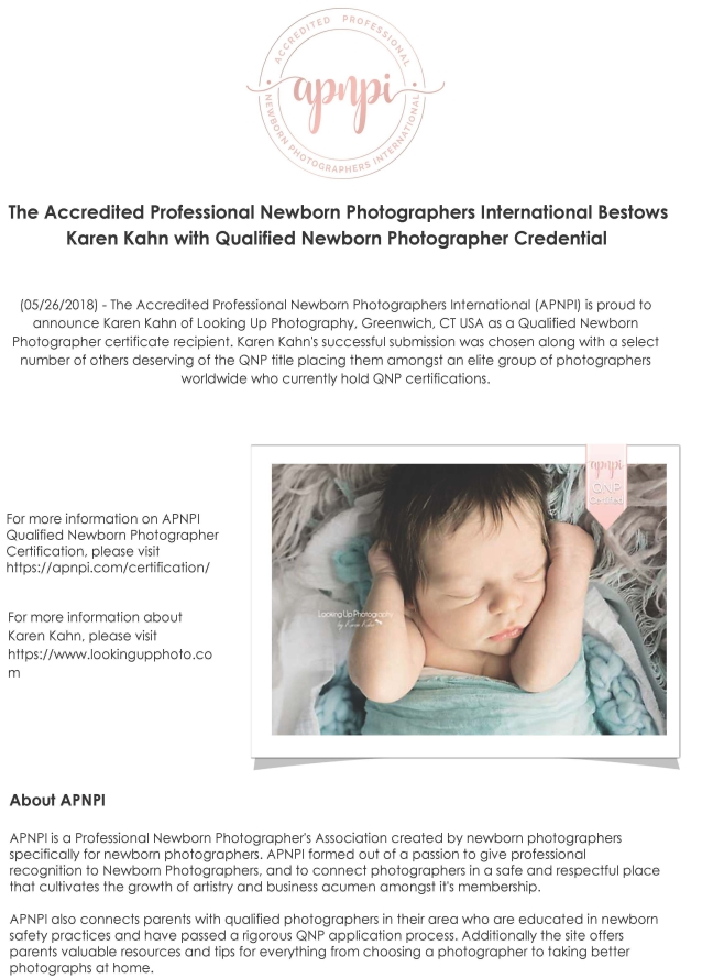 Certified Newborn Professional