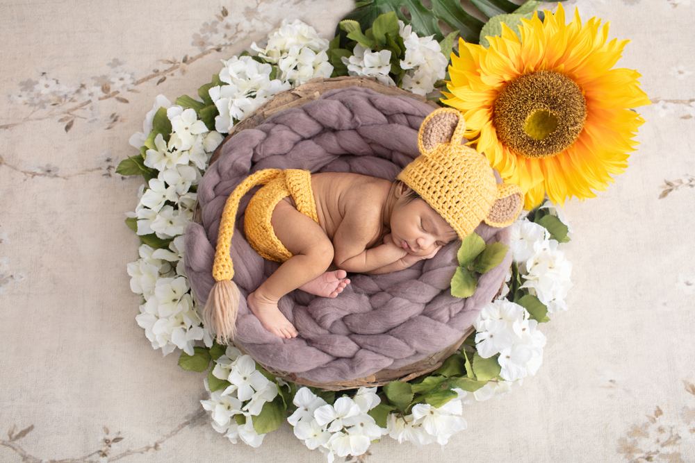 Newborn Pride | Connecticut Newborn Photographer