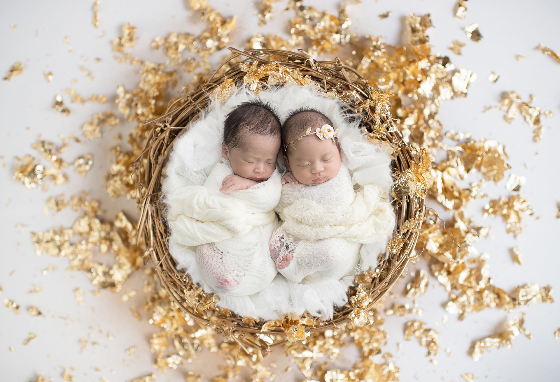 Double the Fun | Connecticut Newborn Photographer