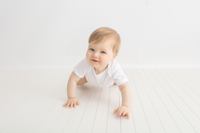 9 Month Baby Milestone Session