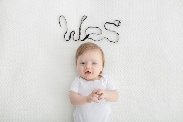 3 Month Baby Milestone Session
